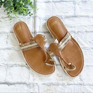 Johnston & Murphy Wendy Thong sandals 9
